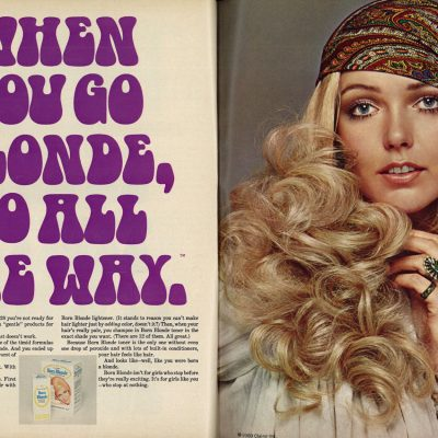 Clairol ad from 1969
